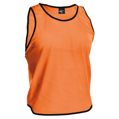 BRT League Vest Hi-Vis Orange Size Jnr