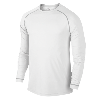 BRT Mens Signature Long Sleeve Top White Size XL