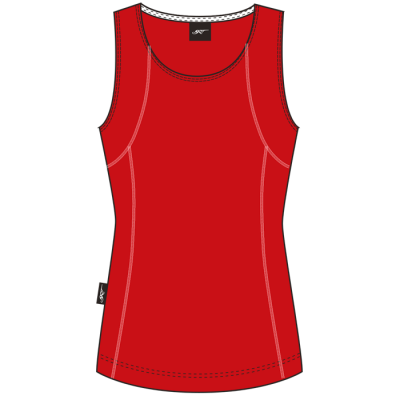 BRT Motion Top Red/White Size 2XL