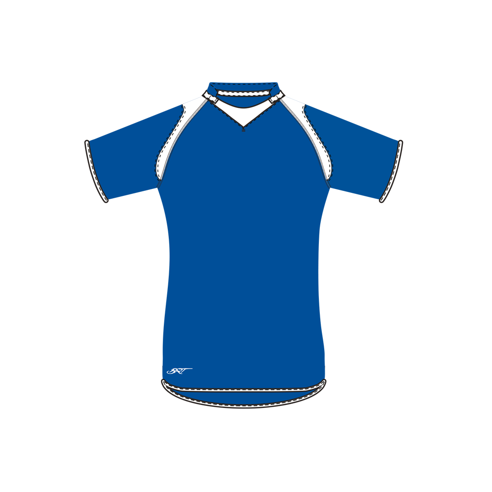 BRT Pakari Rugby Jersey Royal/White Size 7 to 8