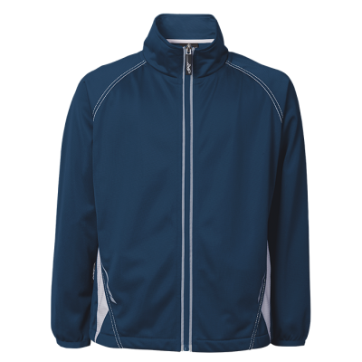 BRT Hydro Tracksuit Top Navy/White Size Small