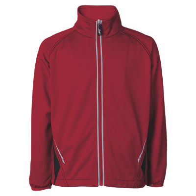 BRT Hydro Tracksuit Top Red/Black Size Large