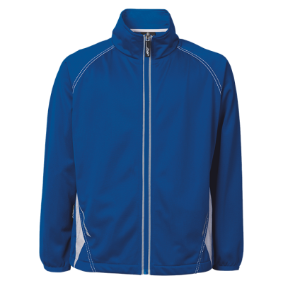 BRT Hydro Tracksuit Top Royal/White Size 7 to 8