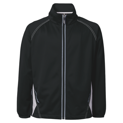 BRT Hydro Tracksuit Top Black/White Size 7 to 8
