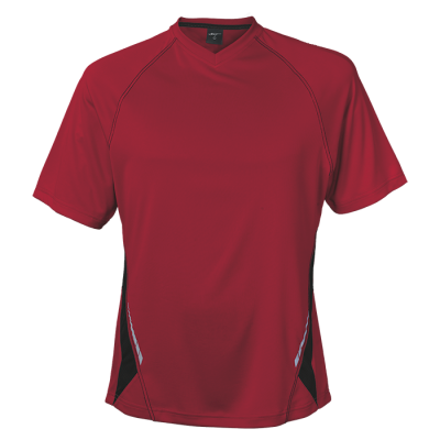 BRT Hydro Short Sleeve T-Shirt Red/Black Size 11 to 12