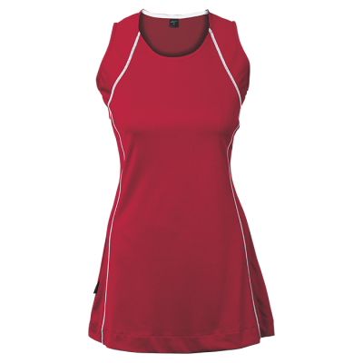 BRT Motion Dress Red/White Size 9 to 10