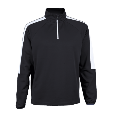 BRT Chrome Tracksuit Top Size 3XL Black/White