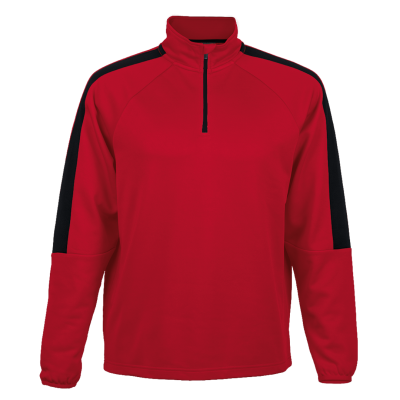 BRT Chrome Tracksuit Top Size 5XL Red/Black