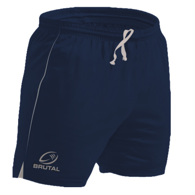BRT Players Rugby Short Navy Size 28