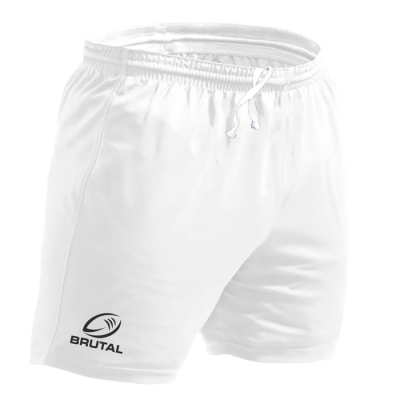 BRT Players Rugby Short White Size 48