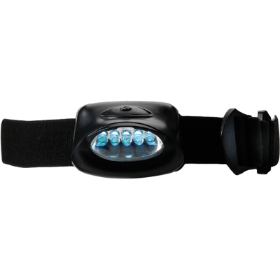 Head Lamp with 5 LED Lights Black