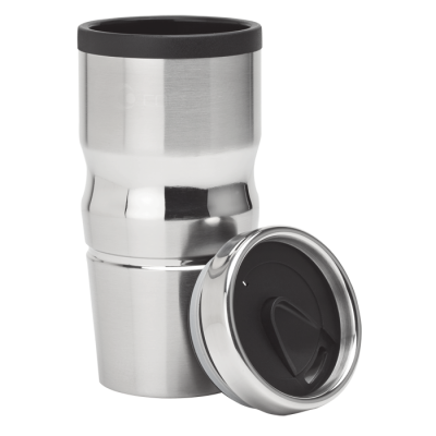 420Ml Stainless Steel And Polypropylene Tumbler Black