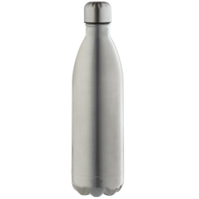 1L Double Wall Vacuum Flask Silver