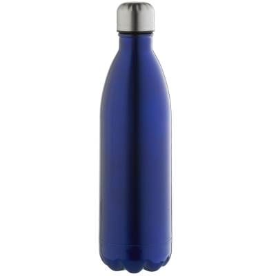 1L Double Wall Vacuum Flask Blue