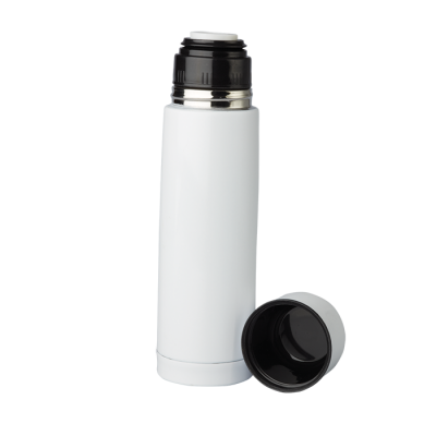 500Ml Coloured Vacuum Flask White