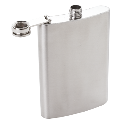 Hip Flask - 304 Stainless Steel Silver