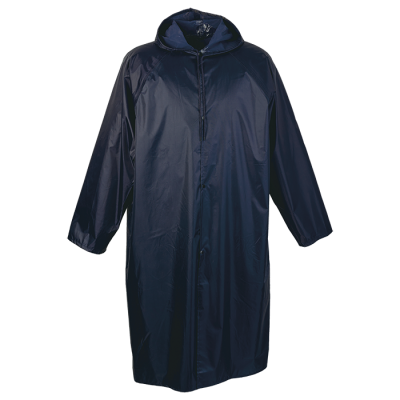 Contract Rain Coat Navy Size 4XL