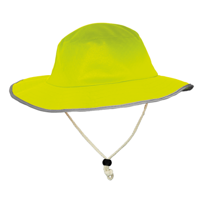 Contract Safety Sun Hat Safety Yellow