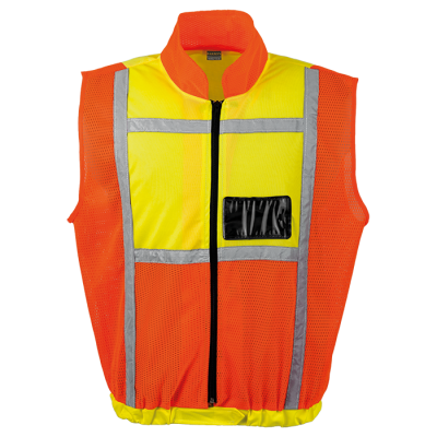 Contract Sleeveless Reflective Vest Safety Yellow/Orange Size 4XL