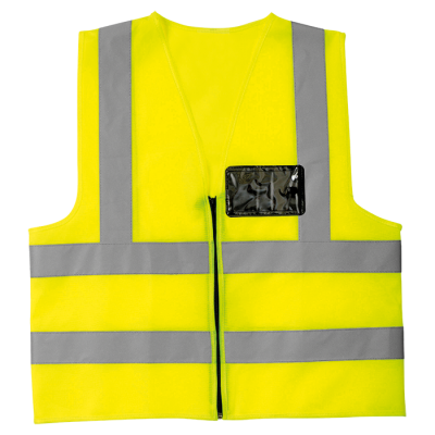 Contract Waistcoat Safety Yellow Size Large