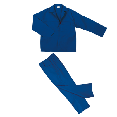 Barron Budget 100% Cotton Conti Suit Royal Size 34