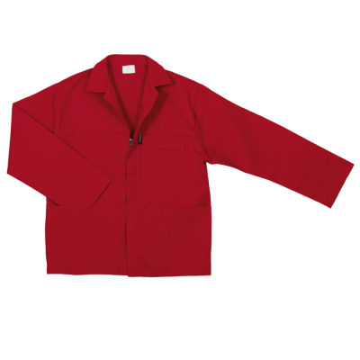 Barron Budget Poly Cotton Conti Suit Red Size 38