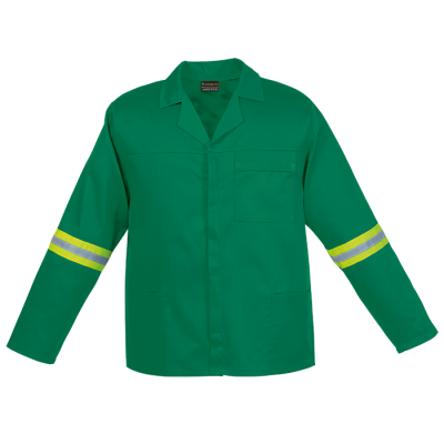 Barron Budget Poly Cotton Conti Suit With Reflective Emerald Size 44