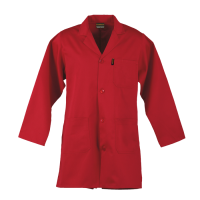 Barron Poly Cotton Dust Coat Red Size 40