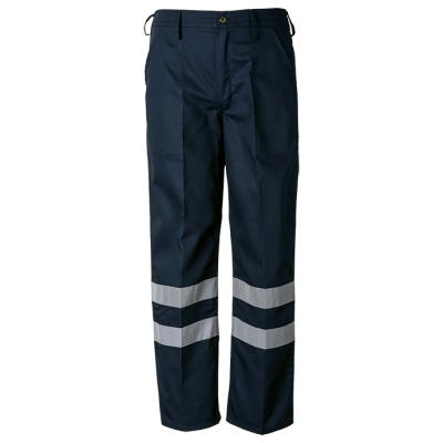 Premier Conti Trouser With Reflective Navy Size 52