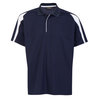 Mens Edge Golfer Navy/White Size Small