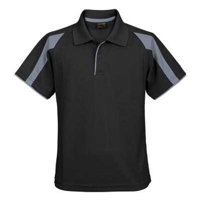 Kiddies Edge Golfer Black/Grey Size 3 to 4