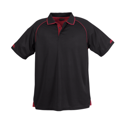 Mens Felton Golfer Black/Red Size XL