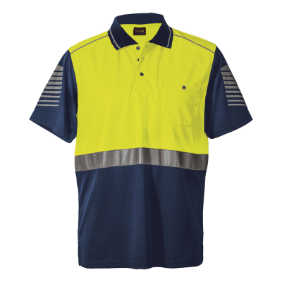 Raid Golfer Size 3XL Safety Yellow/Navy