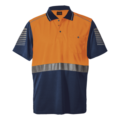 Raid Golfer Size 3XL Safety Orange/Navy