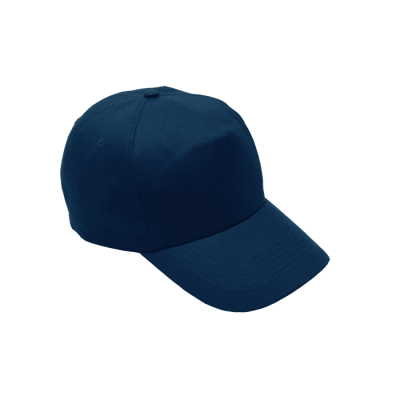 5 Panel Cotton With Hard Front Cap Navy