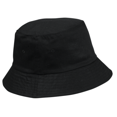 Floppy Poly Cotton Hat Black Size S/M