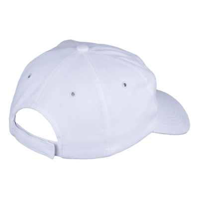 6 Panel Carbon Cap White