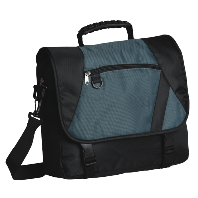 Charter Laptop Bag Black/Grey