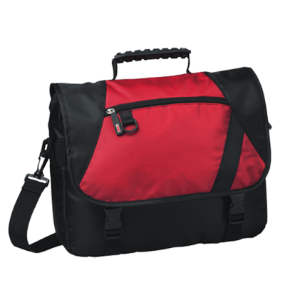 Charter Laptop Bag Black/Red