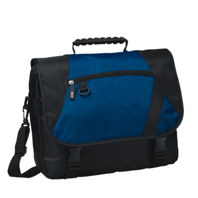Charter Laptop Bag Black/Royal