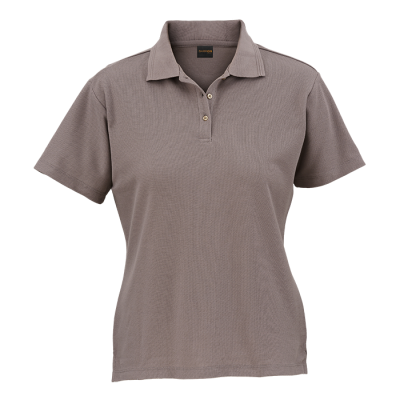 Ladies 175G Barron Pique Knit Golfer Grey Size 4XL