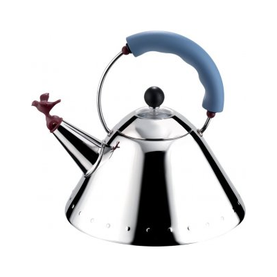 Alessi Graves Kettle Blue/Red