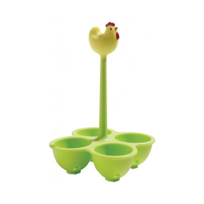 Alessi Basket For Cooking Eggs Yellow