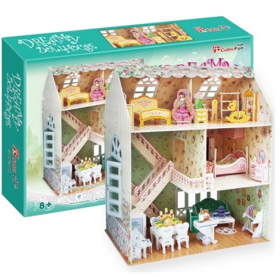 Cubic Fun Dreamy Dollhouse 160Pieces