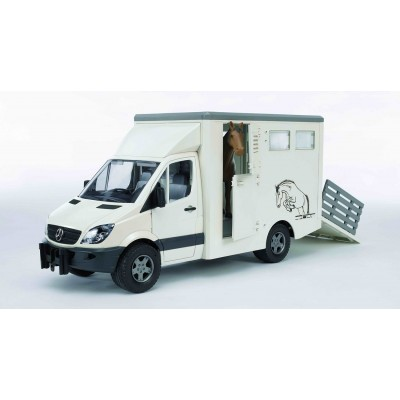 Bruder Mercedes-Benz Sprinter Animal Transporter