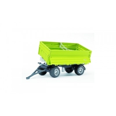 Bruder Fliegl Three Way Tipping Trailer with Removeable Top