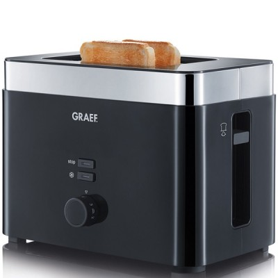 Graef Toaster 2-Slice Black