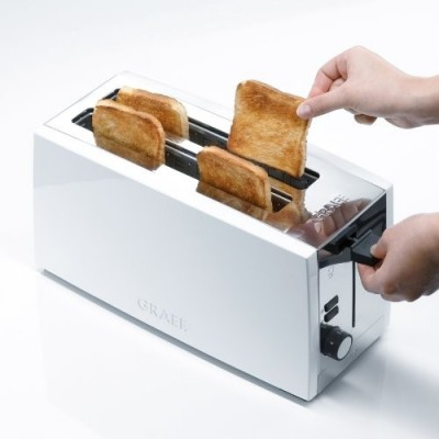 Graef Toaster 4-Slice White