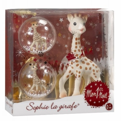 Sophie La Girafe Christmas Set: My First Christmas