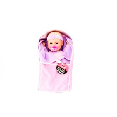Soft Baby Doll With Blanket In Carrier 12 Inch
